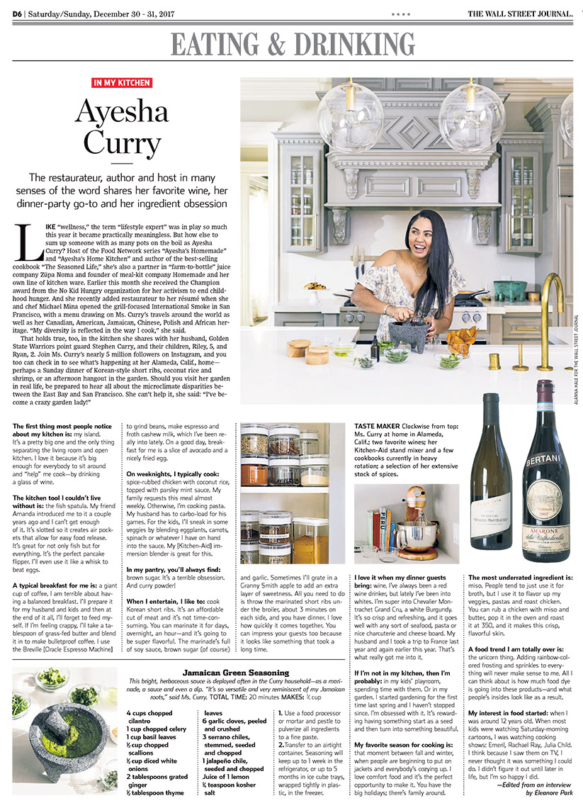Hale_WSJ_AyeshaCurry